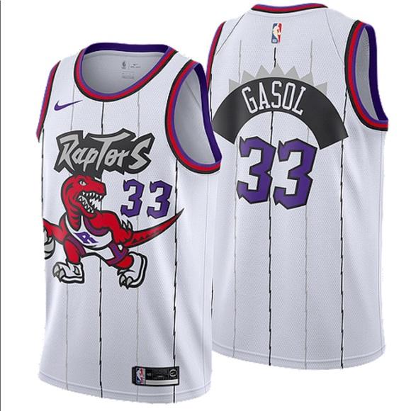 Nike Other - Nike Toronto Raptors Marc Gasol Basketball Jersey